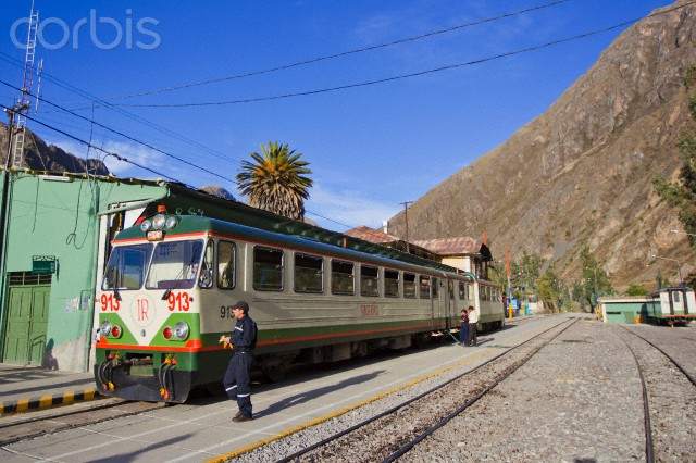 Peru Rail takes tourists to Aguas Callientes to visit Machu Picchu