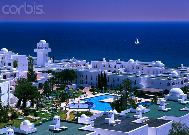 The Pueblo Indalo Apartments on the Sea