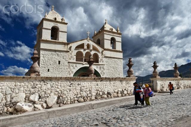 The Iglesia (church) de Santa Ana de Maca