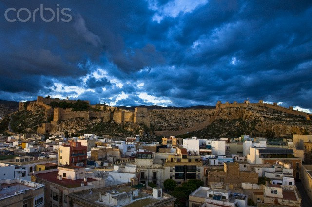 The city and the Alcazaba of Almeria