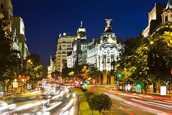 Madrid-Gran-Via-night-Spain